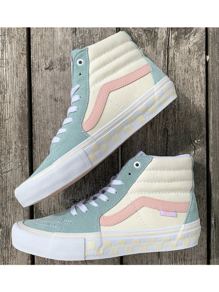 Sk8-Hi Pro Shoe WO/Blu (size options listed)
