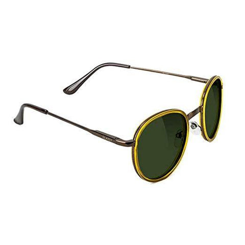 Lincoln Premium Polarized Sunglasses Honey/Grn Lens OS