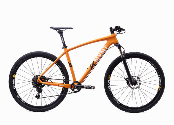 Corundum Mountain Bike - Carbon Orange Matte