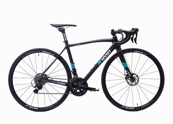 Carnelian Road Bike - Carbon Black Matt