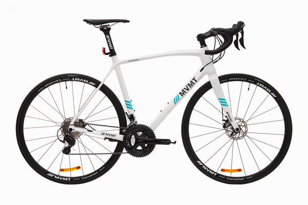 Carnelian Road Bike - Carbon White Glossy