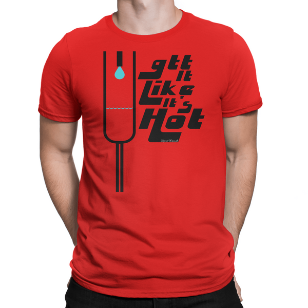 Drop it like it's hot shirt red