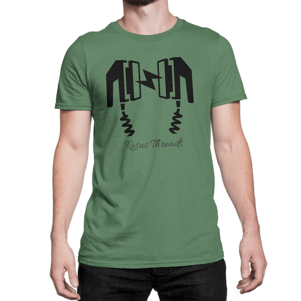 Resus-Threads-Paddles-Logo-T-Shirt-Green