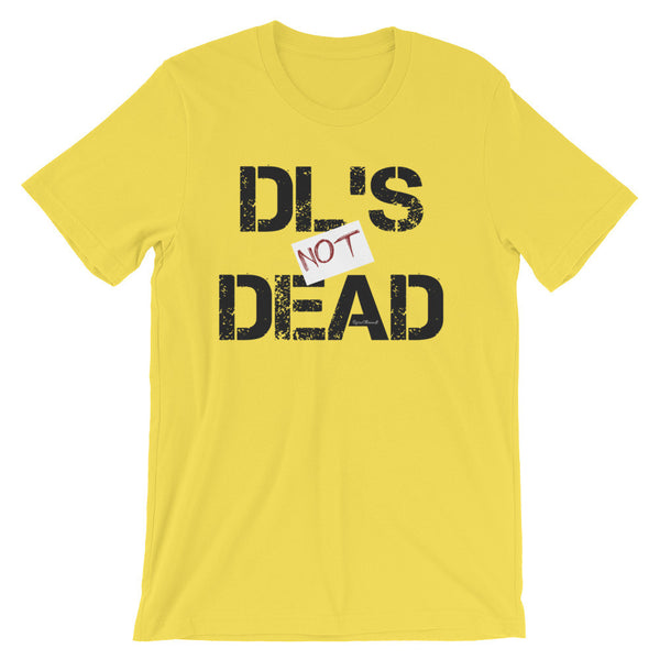 DL's Not Dead T-Shirt - yellow