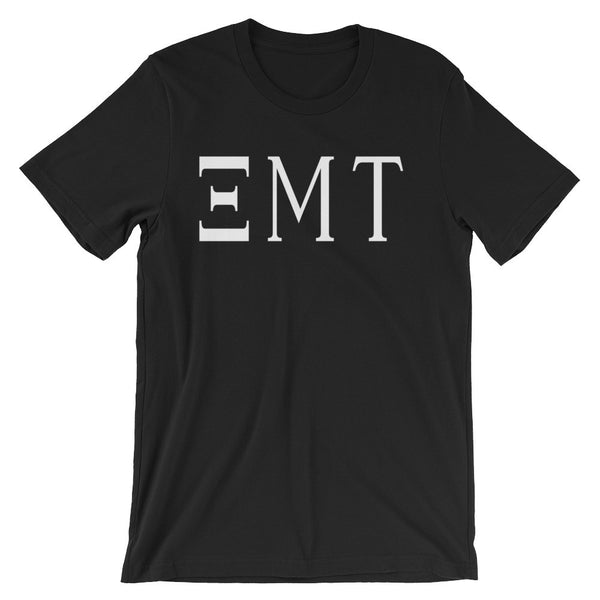 Greek Letter EMT t-shirt - black