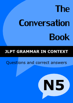 JLPT level N5 - Conversation Book