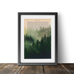 Misty Forest - Art on Words