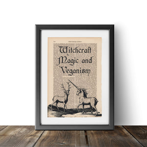 Witchcraft Magic and Veganism - Art on Words