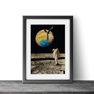 Another Moon - Astronaut III - Art on Words