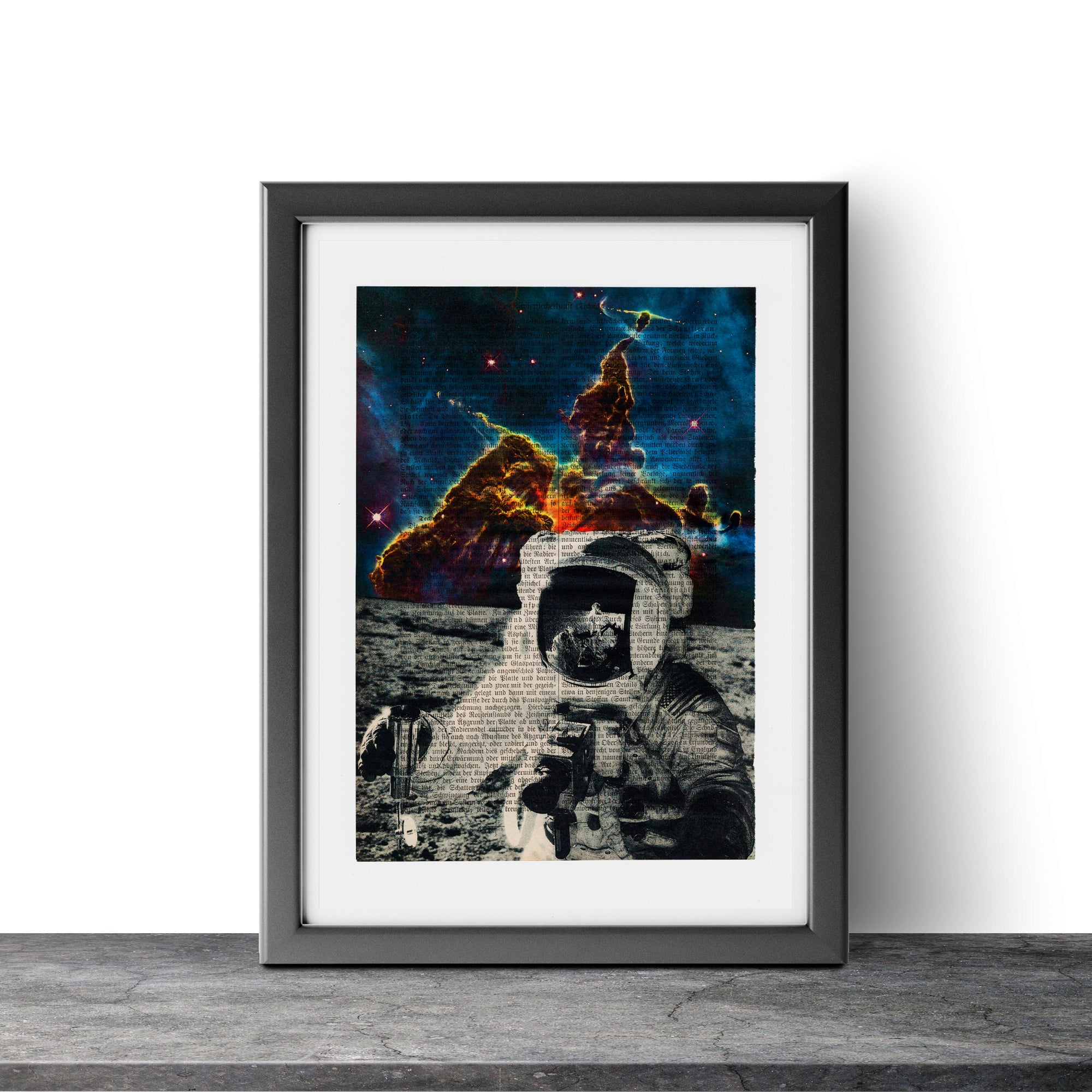 Another Moon - Astronaut II - Art on Words