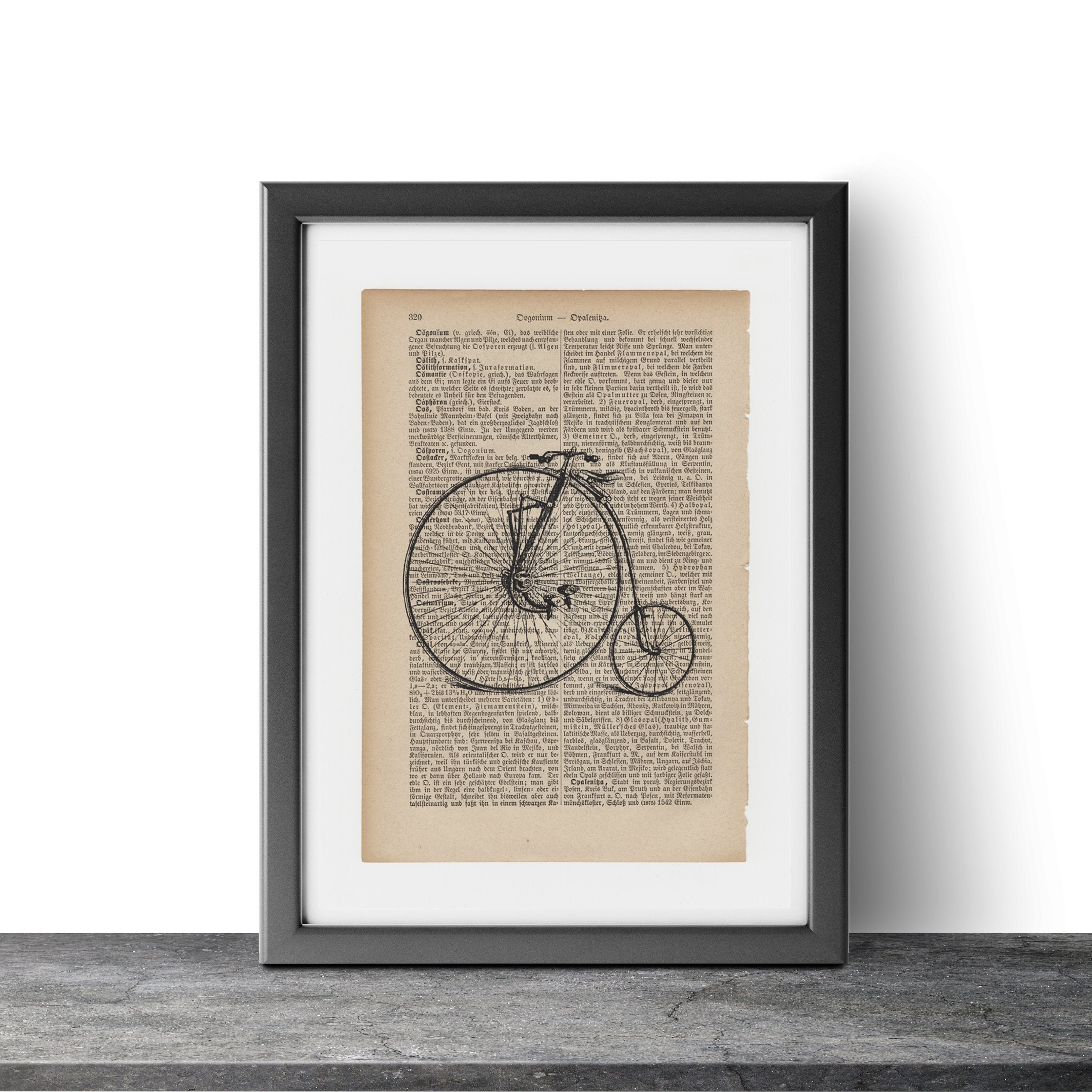Bicycle - Art on Words