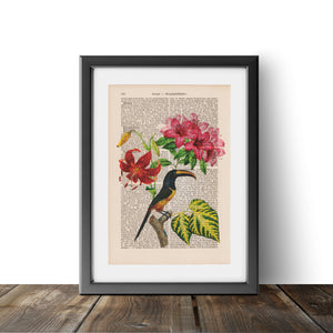 Flower Bird - Art on Words