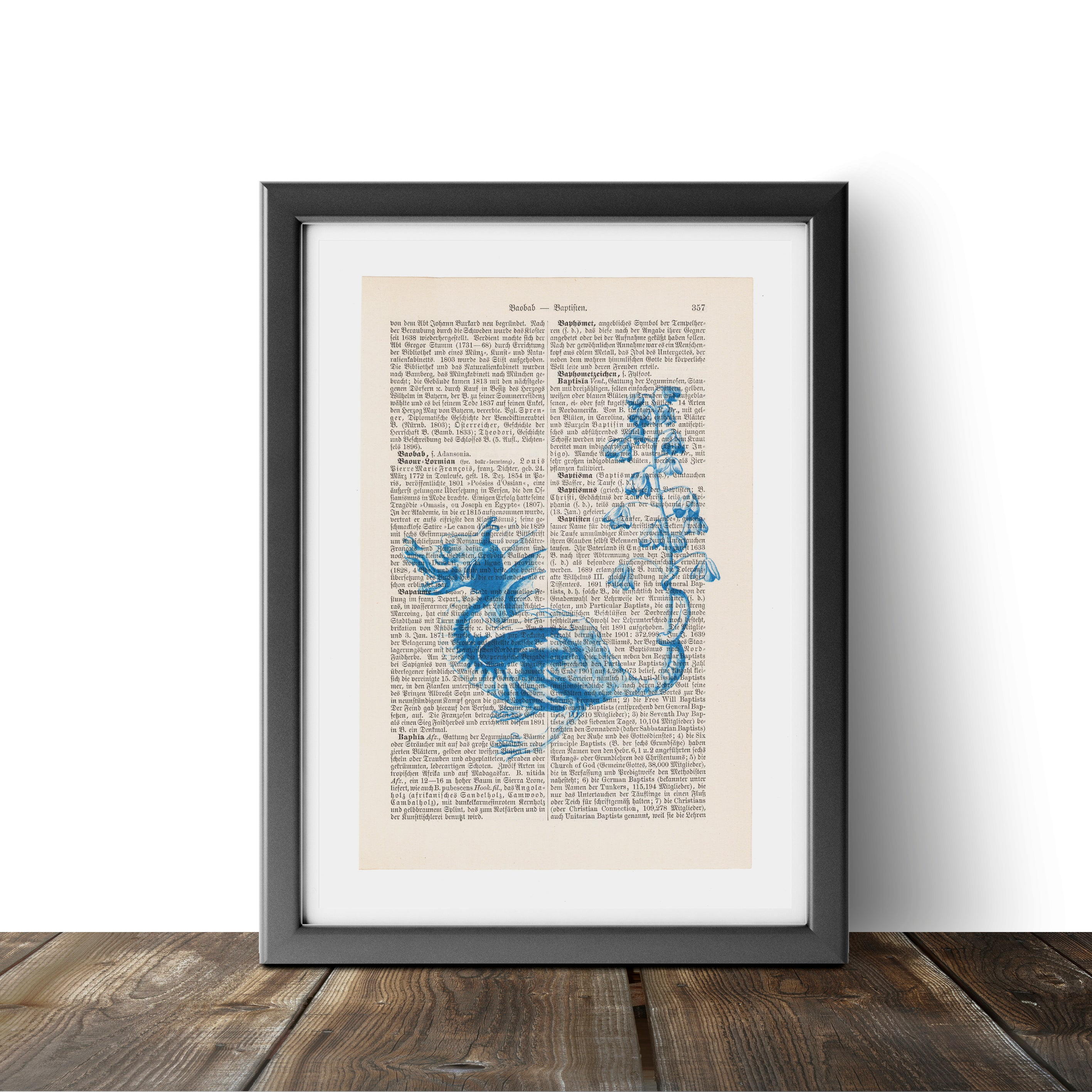 Blue Dragon - Art on Words