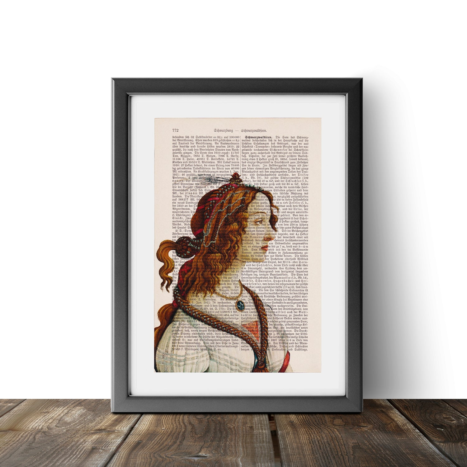 Portrait of a Young Woman - Sandro Botticelli - Art on Words