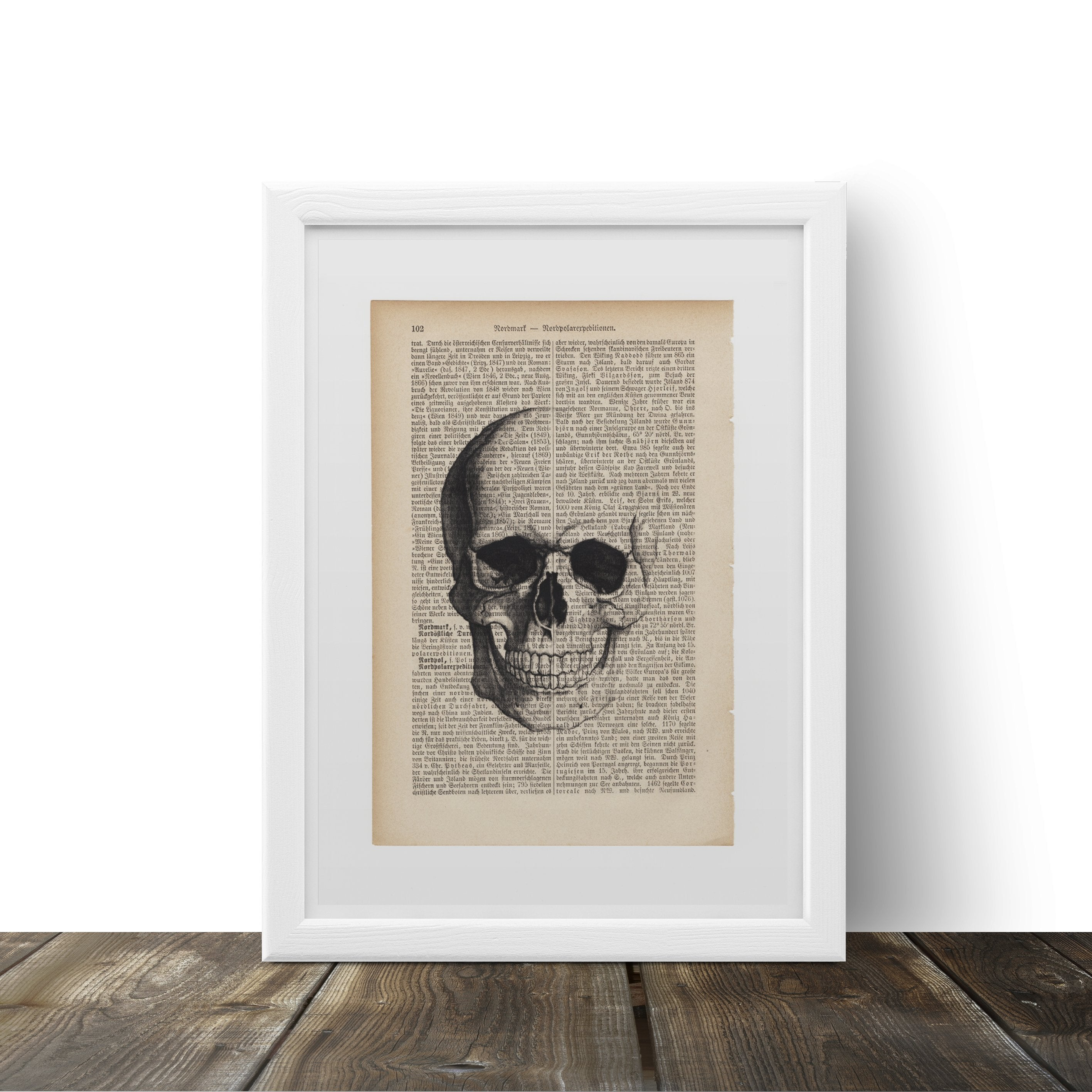 Skull - Art on Words