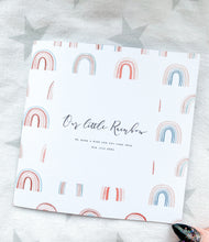 Rainbow Baby Announcement Card