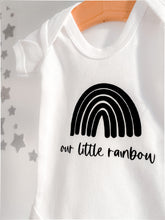 Our Little Rainbow Baby Vest