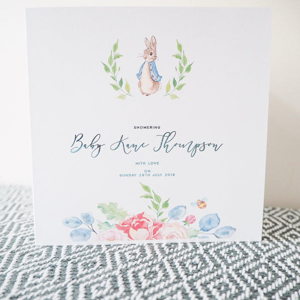 Peter Rabbit Card