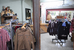 Inside Pioneer Outfitters' store