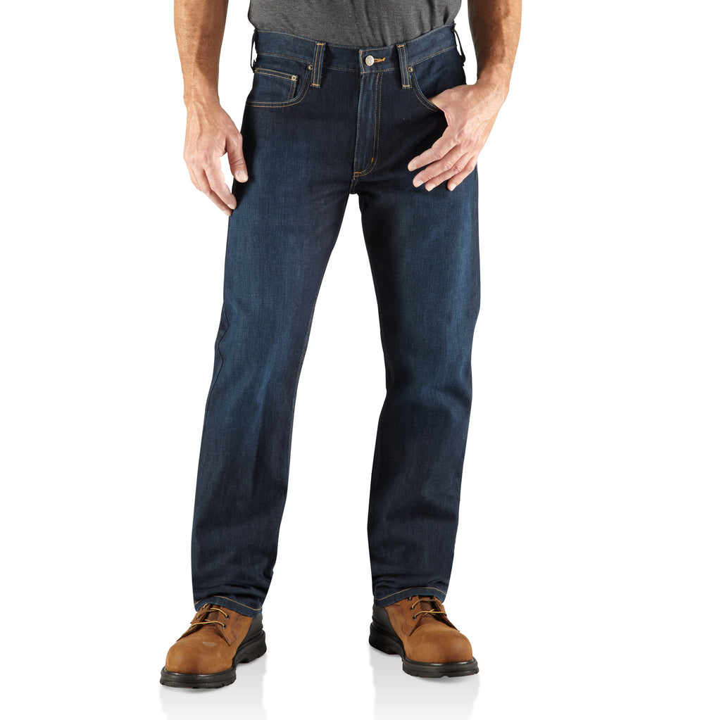 Carhartt 100067 Straight Fit Denim Jean