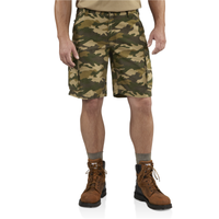 Carhartt 100279 Rugged Cargo Short Khaki Camo