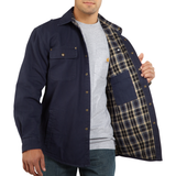 Carhartt 100590 Weathered Canvas Shirt-Jac Navy