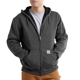Carhartt J100632 Thermal Lined Hooded Sweatshirt Charcoal Heather