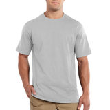 Carhartt 101124 Maddock Non-Pocket T-shirt Heather Grey
