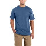 Carhartt 101124 Maddock Non-Pocket T-shirt Tidal Blue Heather
