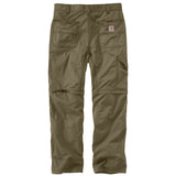 Carhartt 101969 Convertible Pants Burnt Olive Back