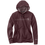 Carhartt Women's Force Hoodie Fudge Heather
