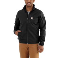 Carhartt 102199 Softshell Crowley Jacket Black
