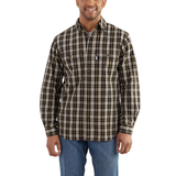 Carhartt Fort Plaid Shirt Black