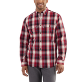Carhartt Fort Plaid Shirt Crimson