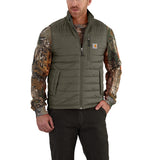 Carhartt 102286 Gilliam Quilted Vest Moss
