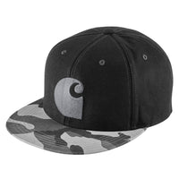 Carhartt Brooker Cap Grey Camo