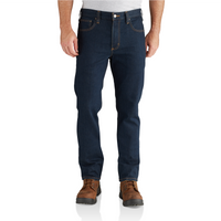 102807 Straight Fit Tapered Leg Jean