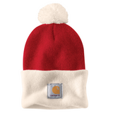 A103343 Lookout Hat Red/White
