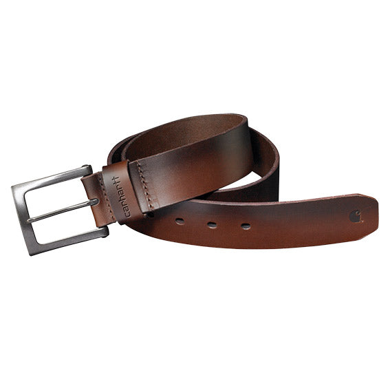 Carhartt 2203 Anvil Leather Belt Brown