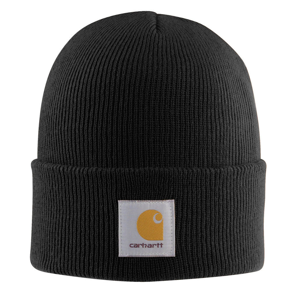 Carhartt A18 Acrylic Watch Hat Black
