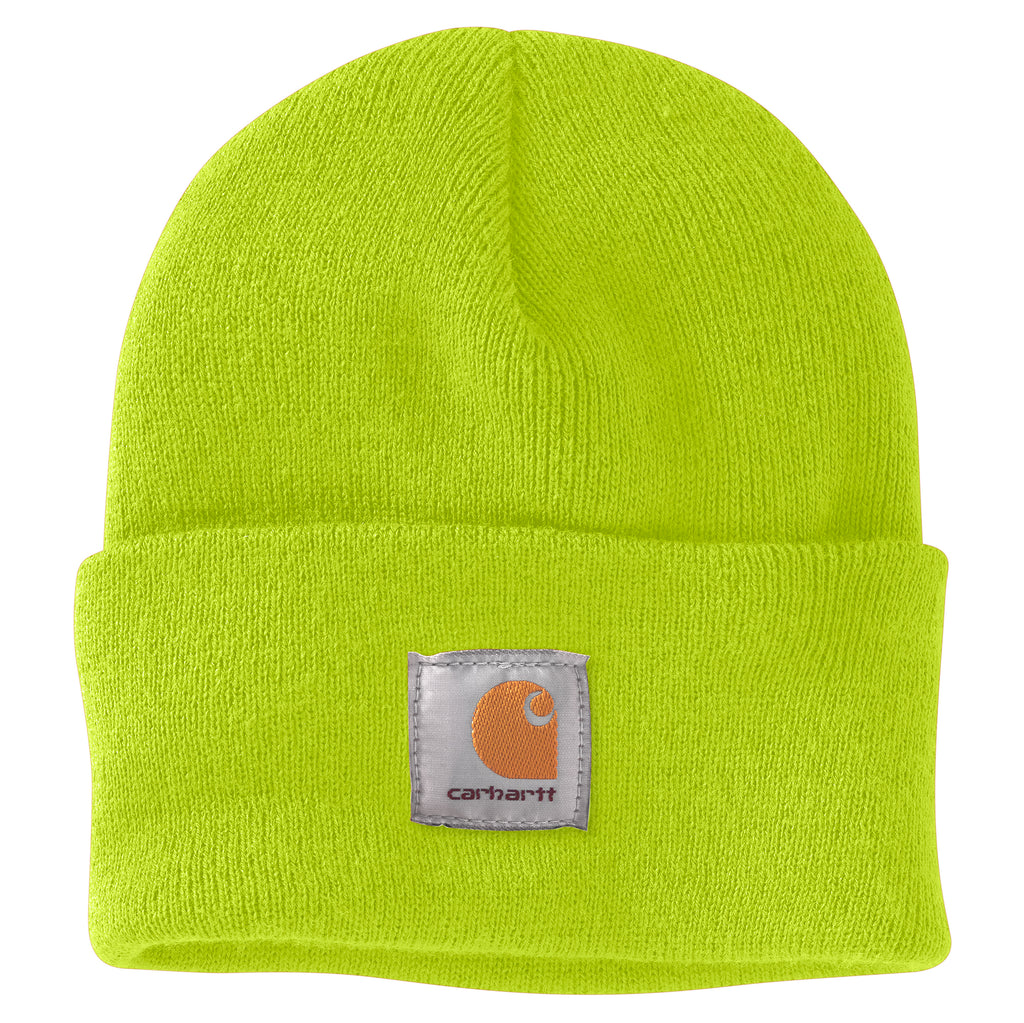 Carhartt A18 Acrylic Watch Hat Bright Lime