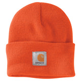 Carhartt A18 Acrylic Watch Hat Bright Orange