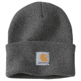 Carhartt A18 Acrylic Watch Hat Coal Heather
