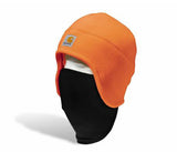 Carhartt A223 2 in 1 Hi Vis Fleece Cap Bright Orange