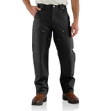 Carhartt B01 Double Front Work Dungaree Black