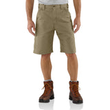 Carhartt B147 Canvas Work Short Dark Khaki