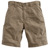 Carhartt B147 Canvas Work Short Light Brown