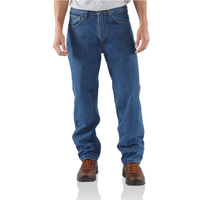 Carhartt B155 Fleece Lined Denim Jeans