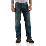 Carhartt B320 Relaxed Fit Straight Jean Weathered Blue