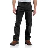 Carhartt B324 Washed Twill Dungaree Black